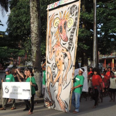 2015 World Lemur Festival event in Tamatave, Madagascar