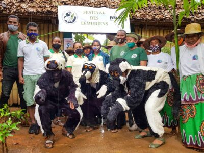 The 2020 World Lemur Festival celebrated by DREDD in Antsinanana, Madagascar
