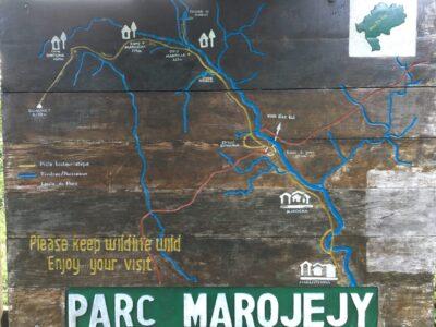 Sign for Marojejy National Park