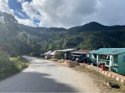 Road passing through Ranomafana