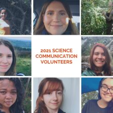 Welcome 2021 Science Communication and Education Volunteers!