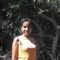Portrait of volunteer Rina