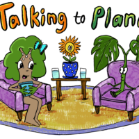 Talking to Plants is a fun illustrated series where you can learn about plants!